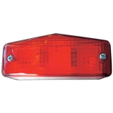 PLATE NUMBER LAMP RED