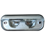 MERCEDES PLATE NUMBER LAMP